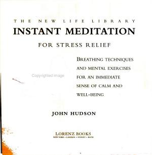 Instant Meditation for Stress Relief PDF