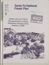 Santa Fe National Forest (N.F.), Land Management Plan: Environmental Impact Statement