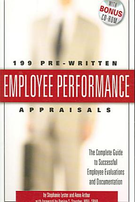 199 Pre written Employee Performance Appraisals