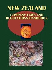 New Zealand Company Laws and Regulations Handbook