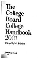 The College Board College Handbook PDF