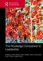 The Routledge Companion to Leadership PDF