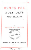 Hymns for Holy Days and Seasons PDF