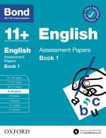 Bond 11+: English Assessment Papers Book 1 9-10 Years