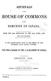 Journals of the House of Commons of Canada: Volume 10