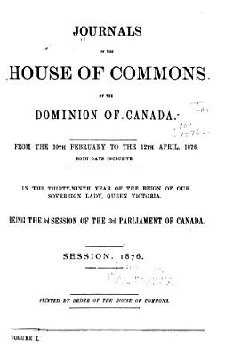 Journals of the House of Commons of Canada PDF