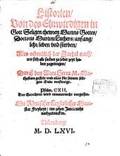 Historien von des ehrwirdigen in Gott seligen thewren Manns Gottes Doctoris Martini Luthers Anfang, Lehr, Leben und Sterben