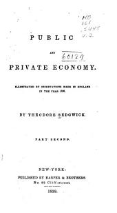 Public and private economy: Volume 2