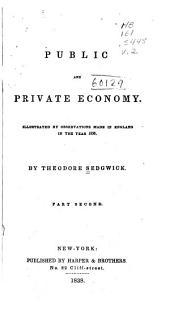 Public and private economy: Volume 2
