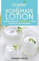 Organic Homemade Lotion PDF