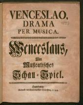 Venceslao: Drama Per Musica