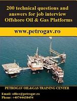 200 technical questions and answers for job interview Offshore Oil   Gas Platforms PDF