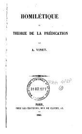 Homilétique: ou théorie de la prédication