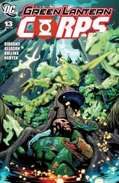 Green Lantern Corps (2006-) #13