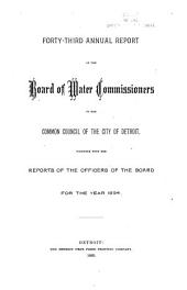 The Operating Report for the Fiscal Year Ending June 30 ...:  (1894-1895), Volumes 43-44