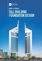 Tall Building Foundation Design PDF