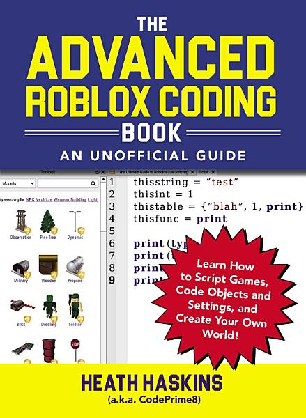 Download The Advanced Roblox Coding Book  An Unofficial Guide Book