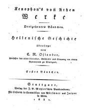 Xenophon's von Athen Werke: Bände 13-16