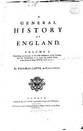 A general history of England: Volume 1
