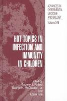 Hot Topics in Infection and Immunity in Children PDF
