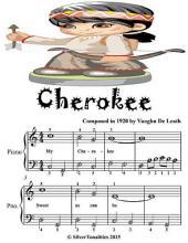 Cherokee - Easiest Piano Sheet Music Junior Edition