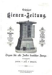 Leipziger Bienenzeitung: Band 12
