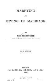 Marrying and Giving in Marriage: A Novel
