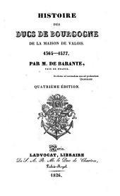Histoire des ducs de Bourgogne de la maison de Valois, 1364-1477;: Table. Recollection des merveilles advenues en nostre temps, par Georges Chastellain et Jean Molinet