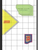 Graph Paper Notebook 8.5 X 11 IN, 21.59 X 27.94 Cm