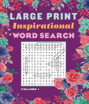 Large Print Inspirational Word Search Volume 1 PDF