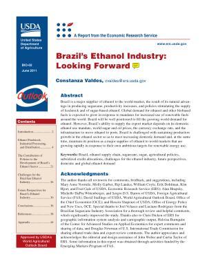 Brazil   s Ethanol Industry  Looking Forward PDF