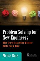 Problem Solving for New Engineers PDF
