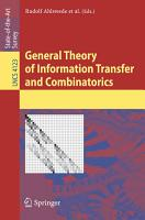 General Theory of Information Transfer and Combinatorics PDF