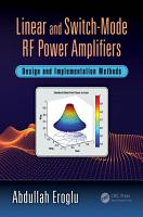 Linear and Switch Mode RF Power Amplifiers PDF
