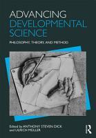 Advancing Developmental Science PDF