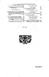 Les loix civiles dans leur ordre naturel ; le droit public, et legum delectus: Volume2
