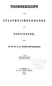 Tijdschrift voor staathuishoudkunde en statistiek: Volume 12