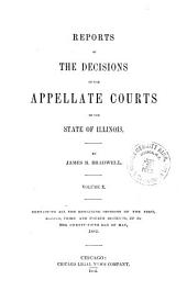 Reports of the Decisions of the Appellate Courts of the State of Illinois: Volume 10