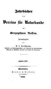 Jahrbücher des Nassauischen Vereins für Naturkunde: Band 10