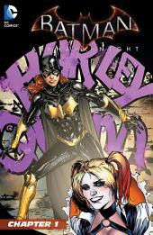 Batman: Arkham Knight - Batgirl & Harley Quinn Special (2015-) #1