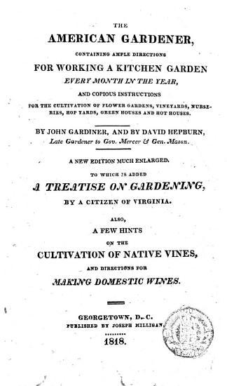 The American Gardener PDF