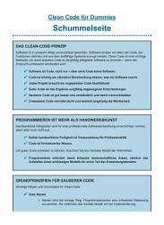 Clean Code f  r Dummies PDF