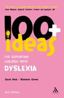 100  Ideas for Supporting Children with Dyslexia PDF