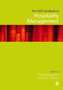 The SAGE Handbook of Hospitality Management