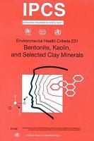 Bentonite  Kaolin  and Selected Clay Minerals PDF