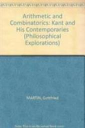 Arithmetic and Combinatorics: Kant and His Contemporaries