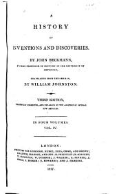 A History of Inventions and Discoveries: Volume 4