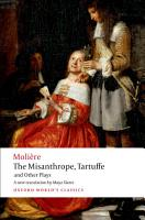 The Misanthrope  Tartuffe  and Other Plays PDF