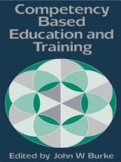 Competency Based Education And Training PDF