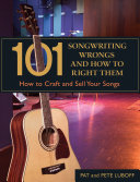 Download 101 Songwriting Wrongs and How to Right Them Book
